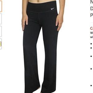Nike Dry Fit Black Yoga Training Pants